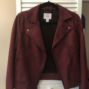 Old Navy burgundy Jacket